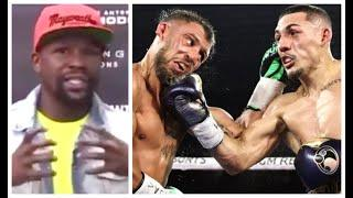 'YOU CANNOT COMPARE ME TO LOMACHENKO' - FLOYD MAYWEATHER JR REACTS TO LOPEZ'S WIN AGAINST LOMACHENKO