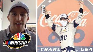 What does Brad Keselowski's future hold after 600 win? | NASCAR America at Home | Motorsports on NBC