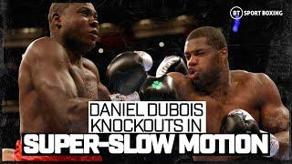 Daniel Dubois' greatest knockouts are even better in super-slow motion