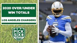 Analyzing Los Angeles Chargers Win Totals | Pick Six Podcast