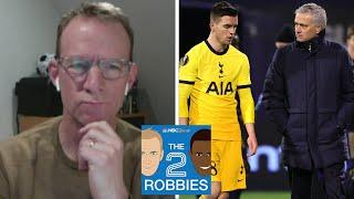 Spurs' Shock Exit From Europa League; Chelsea, Man City Cruise | The 2 Robbies Podcast | NBC Sports