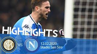 Highlights Coppa Italia - Inter vs Napoli 0-1