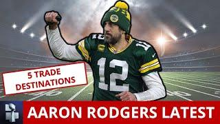 Aaron Rodgers Trade Rumors: Top 5 Teams Who Could Trade For The Packers QB Before 2021 NFL Season