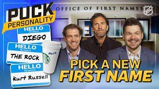 NHL stars pick new first names   Puck Personality   NHL