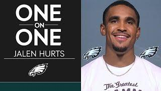 "Jalen Hurts Focused on ""Improving Everyday"" 
