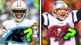 PREDICTING How These 10 QBs Will Fare On Their NEW TEAMS (Tom Brady, Teddy Bridgewater & more)