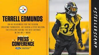 Steelers Virtual Camp Press Conference (Sept. 4): Terrell Edmunds | 2020 Press Conference