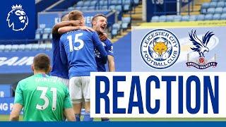 'I'm Over The Moon' - Jamie Vardy | Leicester City 3 Crystal Palace 0