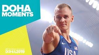 Sam Kendricks Soars to Pole Vault Gold | World Athletics Championships 2019 | Doha Moments