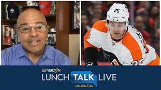 Flyers winger James van Riemsdyk explains NHLPA's role in NHL return | Lunch Talk Live | NBC Sports