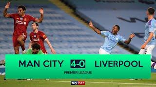 Manchester City 4-0 Liverpool | Man City thrash champions Liverpool