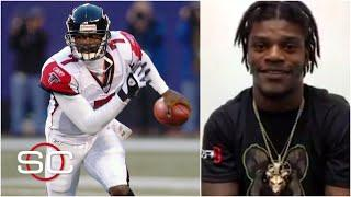 Lamar Jackson used to play Madden as Michael Vick | SportsCenter