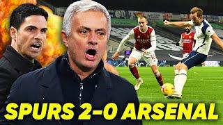 ARSENAL DESTROYED BY MOURINHO, KANE & SON | Spurs 2-0 Arsenal | #TheReaction