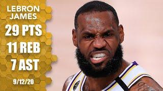 LeBron James dominates Game 5 in Rockets vs. Lakers | 2020 NBA Playoffs