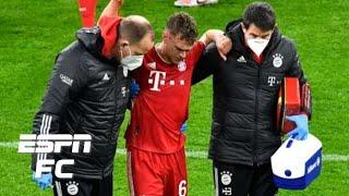 Joshua Kimmich's injury vs. Borussia Dortmund a 'MASSIVE BLOW' to Bayern's title chances | ESPN FC