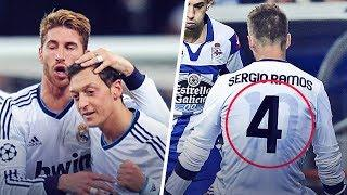 The reason why Sergio Ramos wore Mesut Ozil's jersey under his own | Oh My Goal