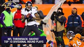 NFL Throwback:  Ravens' Top 10 Divisional Round Plays