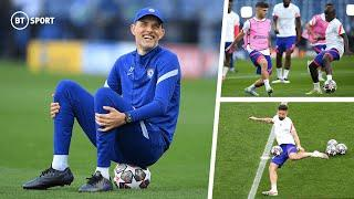 IN FULL: Chelsea's final training session ahead of UCL Final | Tuchel's Blues get set in Porto