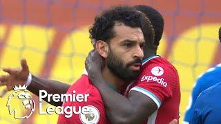 Mohamed Salah reclaims Liverpool lead in Merseyside derby v. Everton | Premier League | NBC Sports