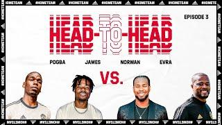 Head-to-Head: Paul Pogba and Derwin James v Patrice Evra and Josh Norman | Manchester United
