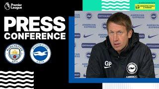 Graham Potter's Man City Press Conference