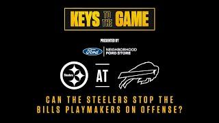 Keys to the Game: Pittsburgh Steelers Week 14 at Buffalo Bills