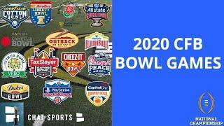 College Football Bowl Games: 2020-21 Schedule, Matchups, Dates, Times And Locations
