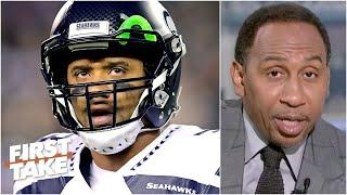 Russell Wilson and the Seahawks pose the biggest threat to the Buccaneers in the NFC - Stephen A.