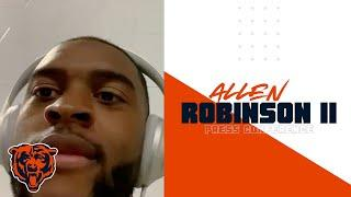 Allen Robinson II: 'I'm glad for all the challenges that I'm given' | Chicago Bears