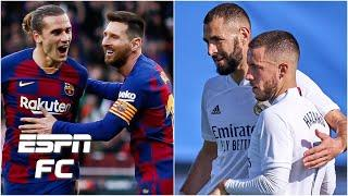 Better pairing: Real Madrid's Hazard & Benzema or Barcelona's Messi & Griezmann? | Extra Time