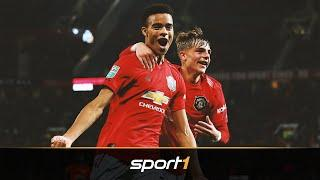 Manchester Uniteds Talente: Mit den Youngsters in die Champions League? | SPORT1 - TALENT WATCH