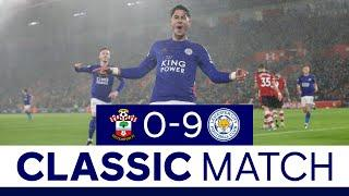 Foxes Make History At St. Mary's Stadium | Southampton 0 Leicester City 9 | 2020/21