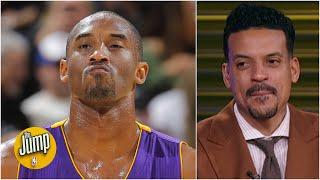 Kobe Bryant kept his 'Mamba wall up' on the court – Matt Barnes | The Jump