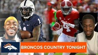Jerry Jeudy and KJ Hamler decide which Broncos' rookie is faster | Broncos Country Tonight