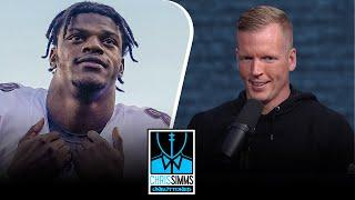 Chris Simms' Top 40 QB Countdown: Lamar Jackson lands at No. 5 | Chris Simms Unbuttoned | NBC Sports
