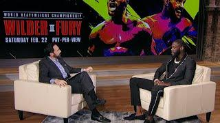 Deontay Wilder: I WiIl Baptize Tyson Fury! | Joe Tessitore Interview | Wilder vs Fury 2