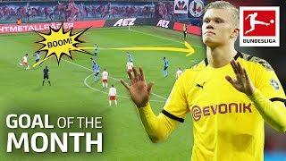 Top 10 Goals February - Vote For The Goal Of The Month