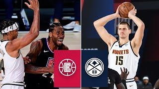 Denver Nuggets vs. LA Clippers [GAME 2 HIGHLIGHTS] | 2020 NBA Playoffs