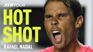 3 HUGE Rafael Nadal Forehands In One Match | HOT SHOT | ATP