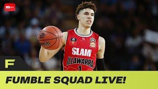 Lamelo Ball's Hawks Teammate David Anderson Says Team WAS NOT Ready For Melo! | FUmble Live!