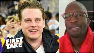 Chad Johnson is optimistic about Joe Burrow's potential with the Bengals | First Take