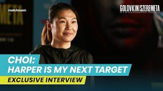 """""""Terri Harper is the next goal!"""" Hyun Mi Choi targets unification after Matchroom debut"""