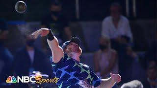 Crouser and Kovacs reignite their rivalry in Zagreb shot put battle | NBC Sports