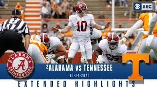 #2 Alabama Crimson Tide vs. Tennessee Volunteers: Extended Highlights | CBS Sports HQ
