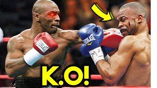 *WOW* MIKE TYSON KNOCKS OUT ROY JONES JR DOUBLE IN LAST FIGHT *FULL K.O HIGHLIGHTS*