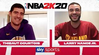 What is it like to play with Lebron James AND Kobe Bryant? | Courtois vs Larry Nance Jr. on NBA2K20!