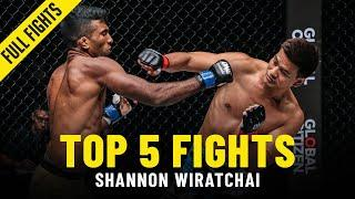 Shannon Wiratchai's Top 5 Fights | ONE Full Fights