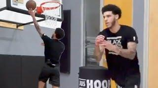 Lonzo Ball Worried LaMelo Will Outshine Him Once He Joins NBA, Working Extra Hard In The Gym