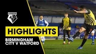 BIRMINGHAM CITY V WATFORD | EXTENDED HIGHLIGHTS | LATE DRAMA AT ST ANDREW'S