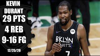 Kevin Durant scores 29 points for Nets vs. Celtics | NBA on ESPN
